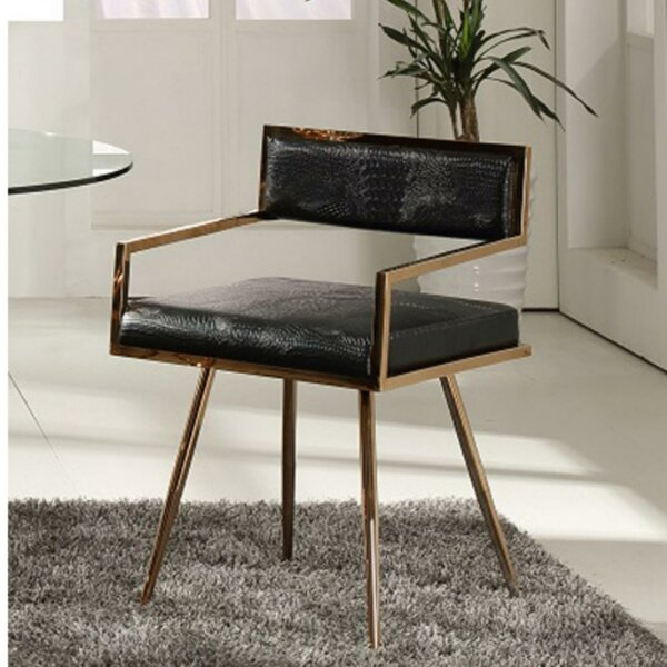 Pedro Upholstered Dining Chair by 17 Stories