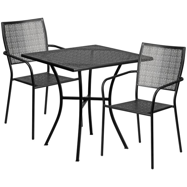 Wafer 3 Piece Bistro Set by Wrought Studio