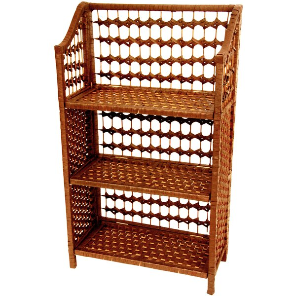 Simoneaux Standard Bookcase By World Menagerie
