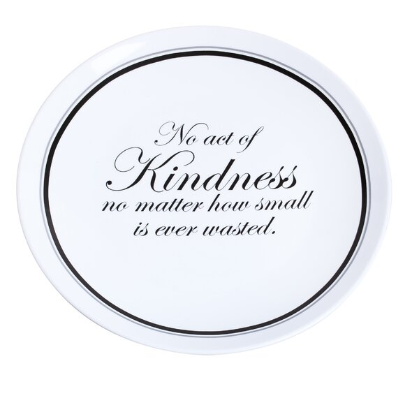 Boan No Act of Kindness Platter by Mercury Row