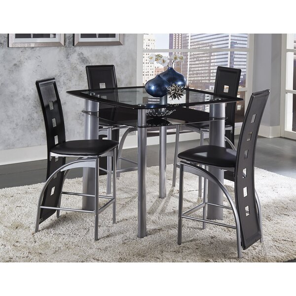 Byxbee 5 Piece Pub Table Set by Latitude Run