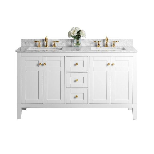 Fuller 60 Double Bathroom Vanity Set by House of Hampton