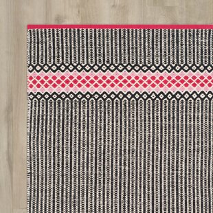 Shevchenko Place Hand-Woven Light Pink Area Rug By Wrought Studio