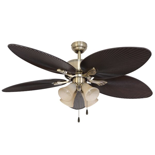 52 Reylock 4-Light 5-Blade Ceiling Fan by Bay Isle Home