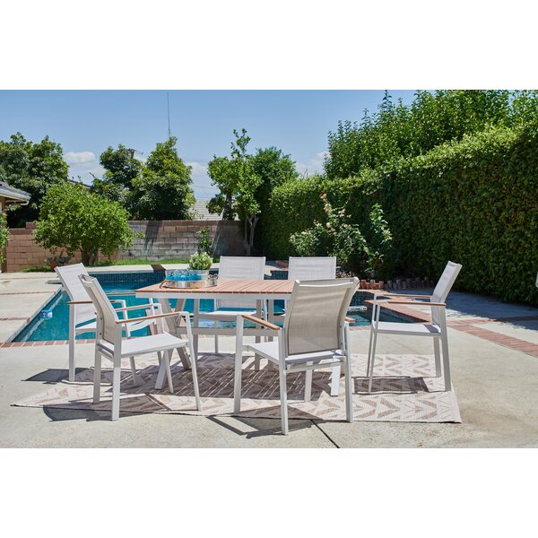 Meister 7 Piece Patio Dining Set by Ebern Designs