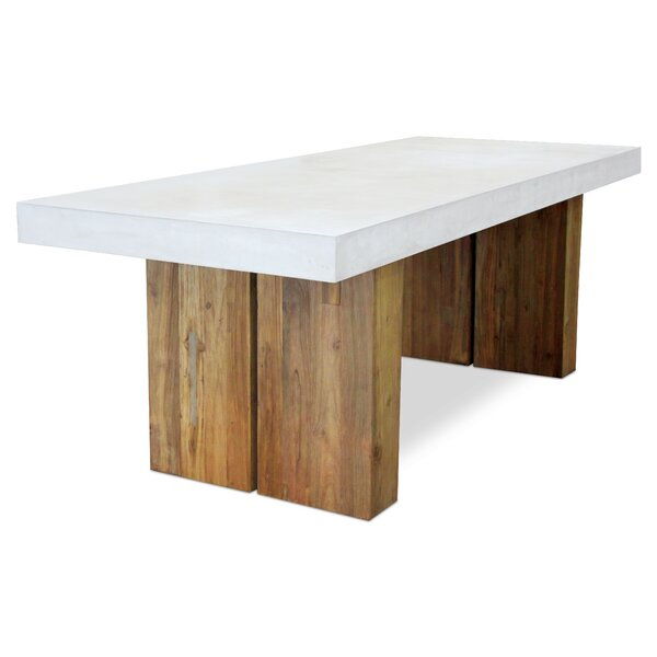 Olympus Conrete Dining Table by Seasonal Living