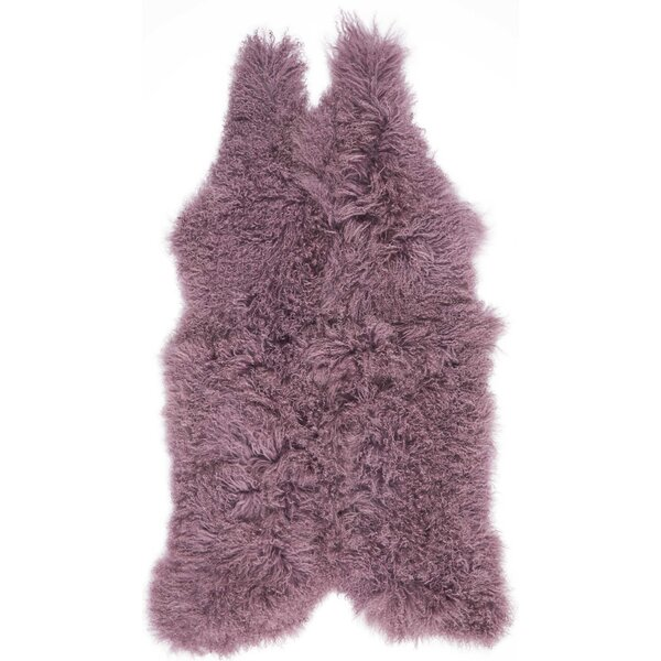 Highbury Sheepskin Indoor Area Rug by House of Hampton