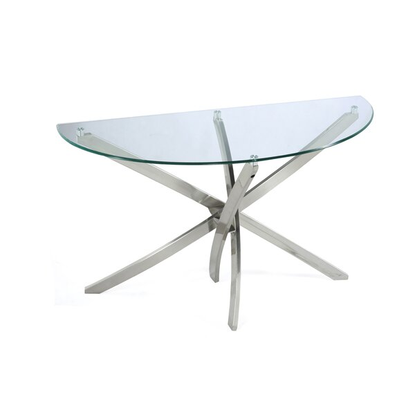 Magnussen Furniture Glass Console Tables