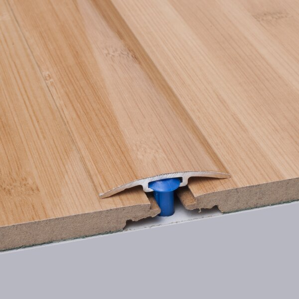0.25 x 1.5 x 35.5 Bamboo T-Molding in Carbonized by ELESGO Floor USA