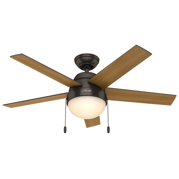 46 Anslee 5 Blade Ceiling Fan by Hunter Fan