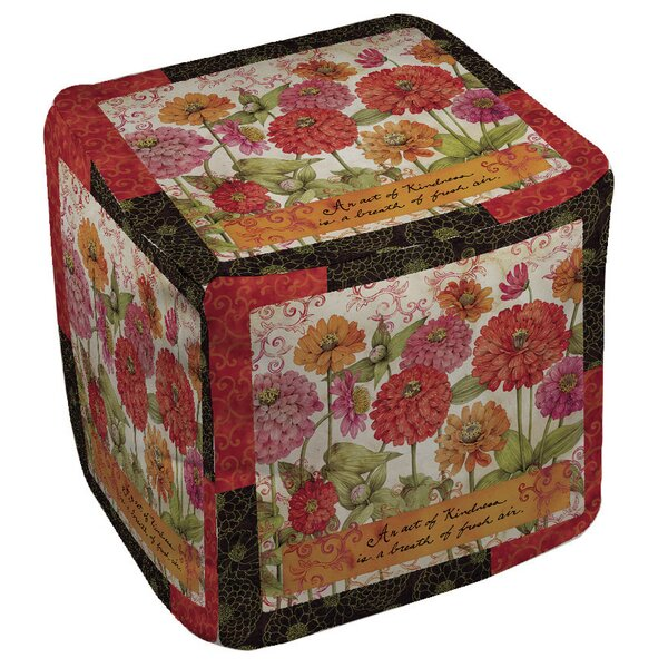Zinnia Pouf by Manual Woodworkers & Weavers