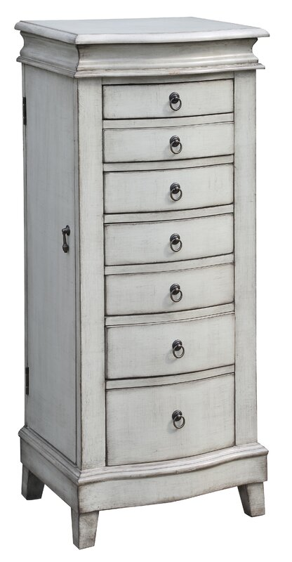 Marvelous Kotter Free Standing Jewelry Armoire