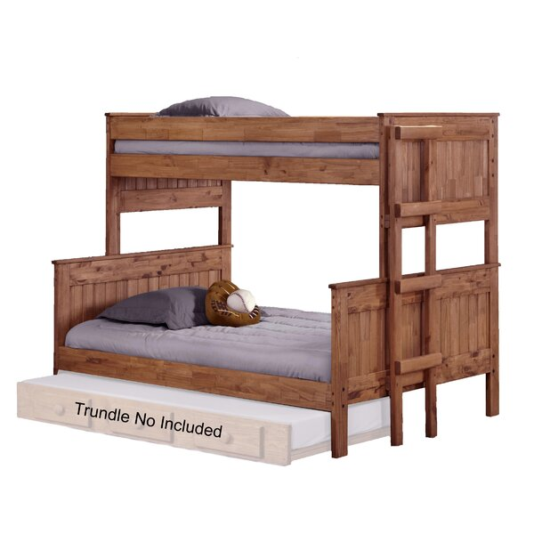 Chretien Stackable Twin Over Full Bunk Bed by Harriet Bee