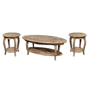 Francoise 3 Piece Coffee Table Set By Lark Manor