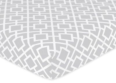 Diamond Fitted Crib Sheet by Sweet Jojo Designs