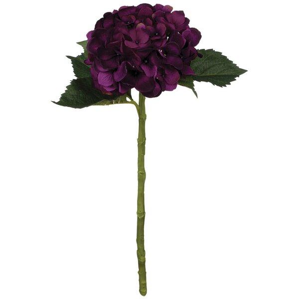 Hydrangea Flower Stem (Set of 2) by House of Hampton