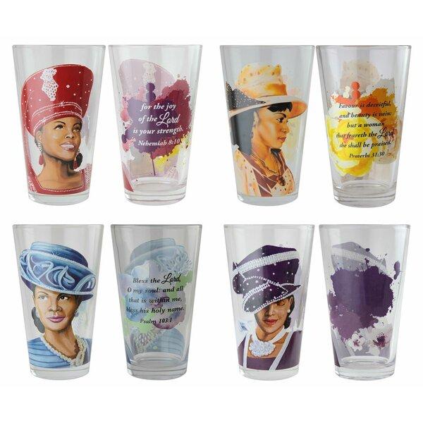 Sharpsburg 17 oz. Glass Every Day Glasses by Winston Porter
