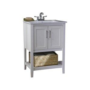 Annabelle 40 Inch Modern Bathroom Vanity Espresso Finish shop 10,028 bathroom vanities | wayfair