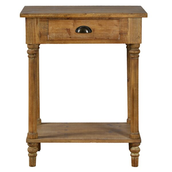 Dampier End Table With Storage By Millwood Pines