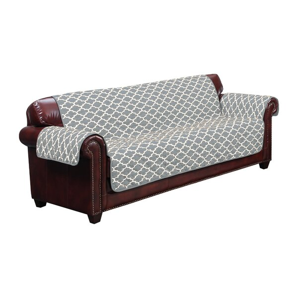 #2 Box Cushion Sofa Slipcover By Winston Porter Discount
