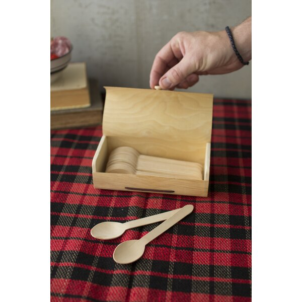 Ensor Wooden Place Spoon (Set of 36) by Red Barrel Studio