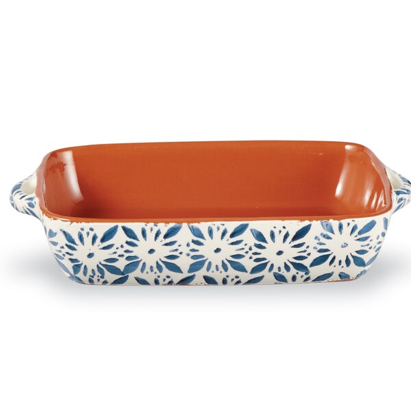 Bungalow Glazed Terracotta Baking Dish by Mud Pie™