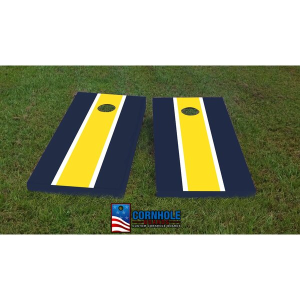 Michigan Cornhole Game (Set of 2) by Custom Cornhole Boards