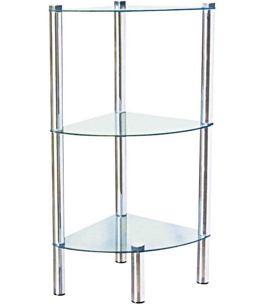 Three Shelf Corner Unit by Home Basics