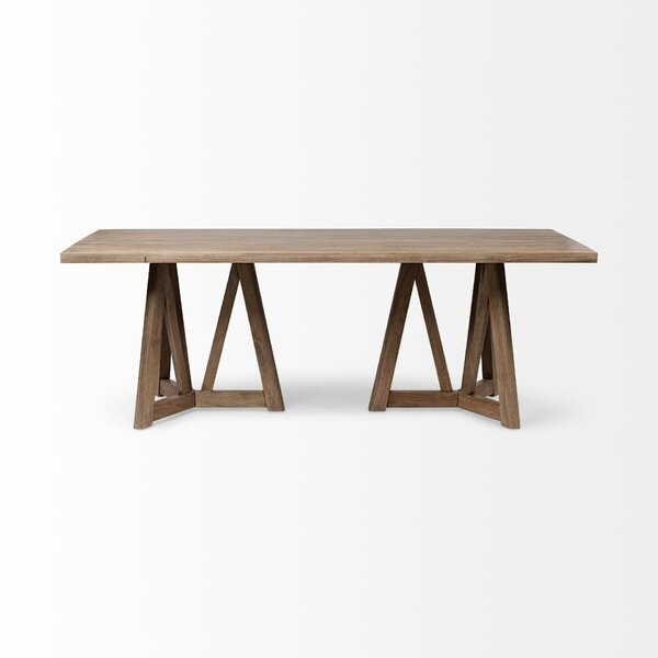 Gaiser Solid Wood Dining Table By Union Rustic