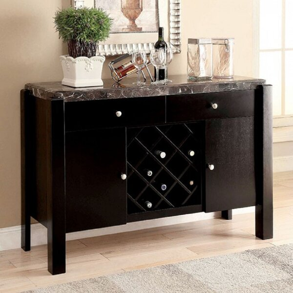 Brandes 52-inch Wide 2 Drawer Buffet Table by Red Barrel Studio Red Barrel Studio