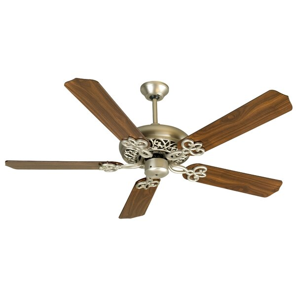 52 Hollingshead 5 Blade Ceiling Fan by Alcott Hill
