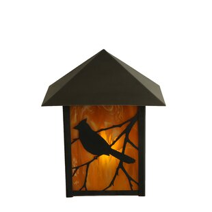 Read Reviews 1-Light Outdoor Flush Mount By Meyda Tiffany