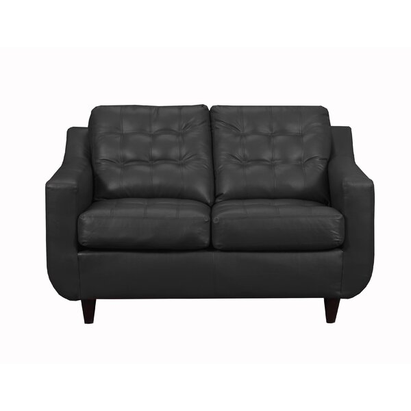 Nice Chic Apaui Loveseat by Orren Ellis by Orren Ellis