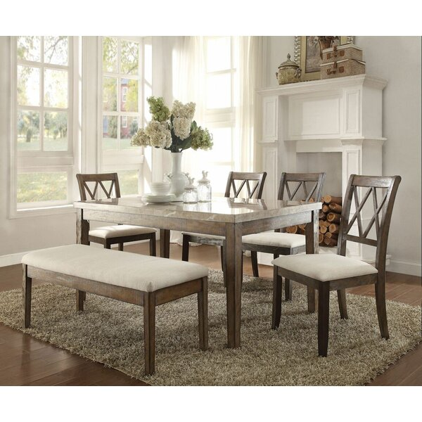 Demoss 6 Pieces Dining Set by Gracie Oaks Gracie Oaks