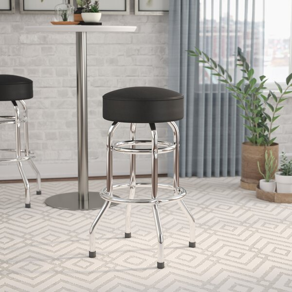 Piya 30.25 Swivel Bar Stool by Orren Ellis