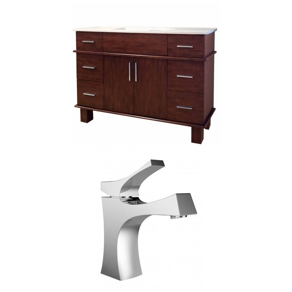 Alum 48 Single Bathroom Vanity Set by American Imaginations