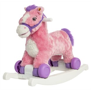 Read Reviews Candy 2-in-1 Rocking Pony By Rockin' Rider