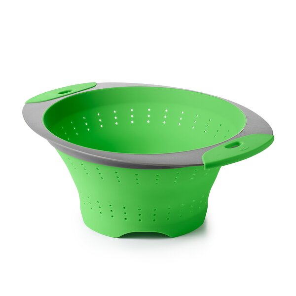 Collapsible Silicone 3.5-Qt. Colander by OXO
