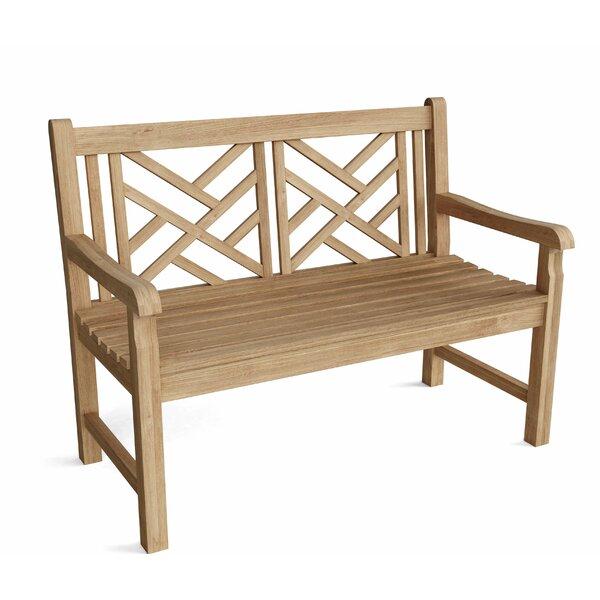 Vilano Teak Garden Bench by Anderson Teak