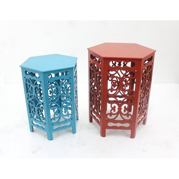 2 Piece End Table by Teton Home