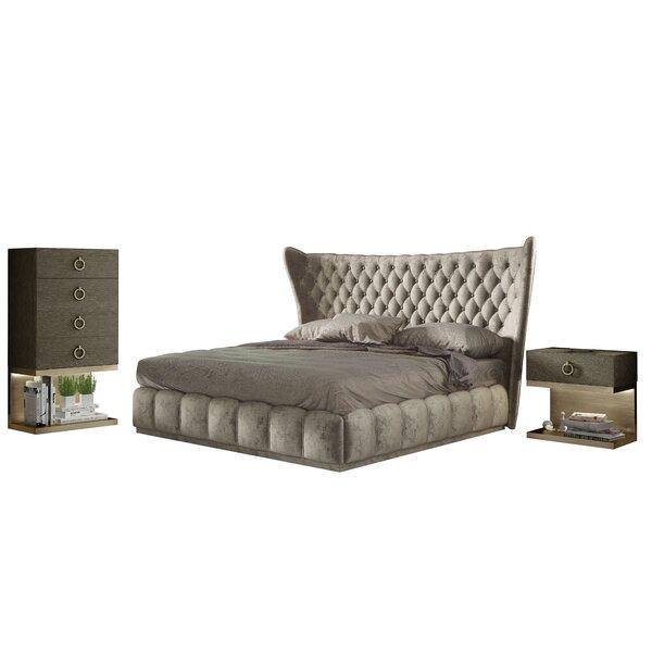 Longville King Standard 4 Piece Bedroom Set by Mercer41