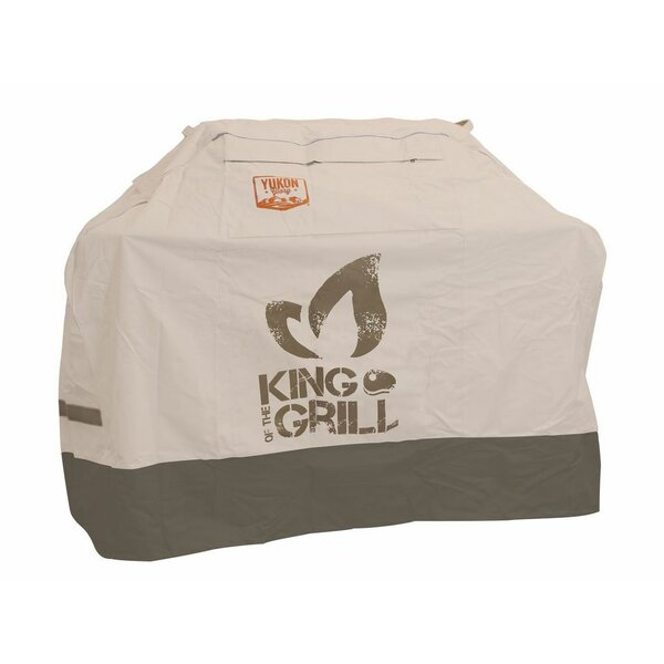 Extra Large Universal King of the Grill Cover by Yukon Glory