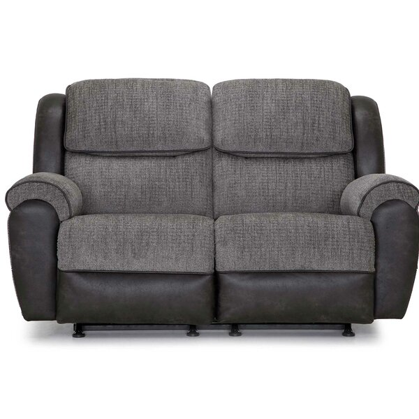 Nice And Beautiful Hedrick Reclining Loveseat by Red Barrel Studio by Red Barrel Studio