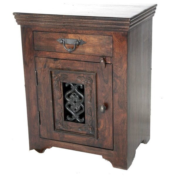 Aster 1 Drawer Nightstand by Astoria Grand