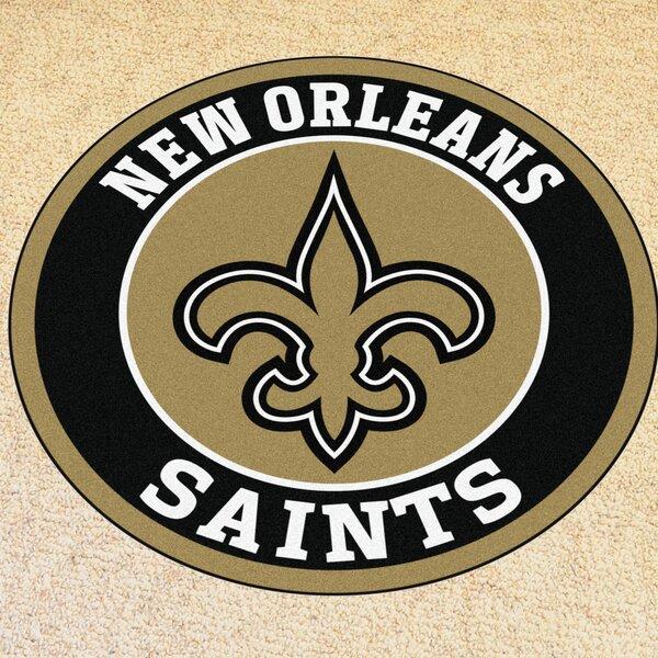 NFL New Orleans Saints Roundel Mat by FANMATS
