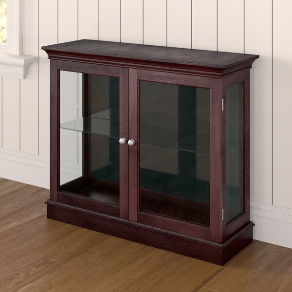 Grantham Floor Standing Curio Cabinet By Charlton Home Coupon