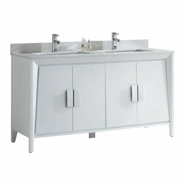 Emerson 60 Double Bathroom Vanity Set