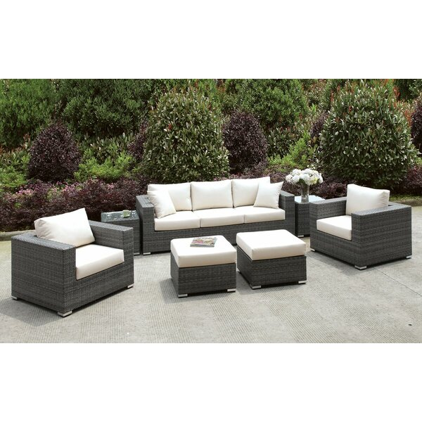 Peters 7 Piece Sofa Seating Group with Cushions by Brayden Studio