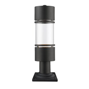 Affordable Price Beecroft Outdoor 1-Light Pier Mount Light By Ivy Bronx
