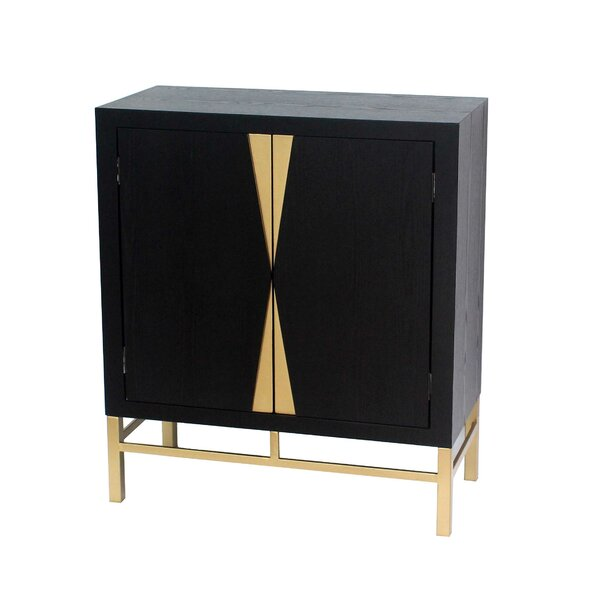 Gosnold 2 Door Accent Cabinet by Everly Quinn